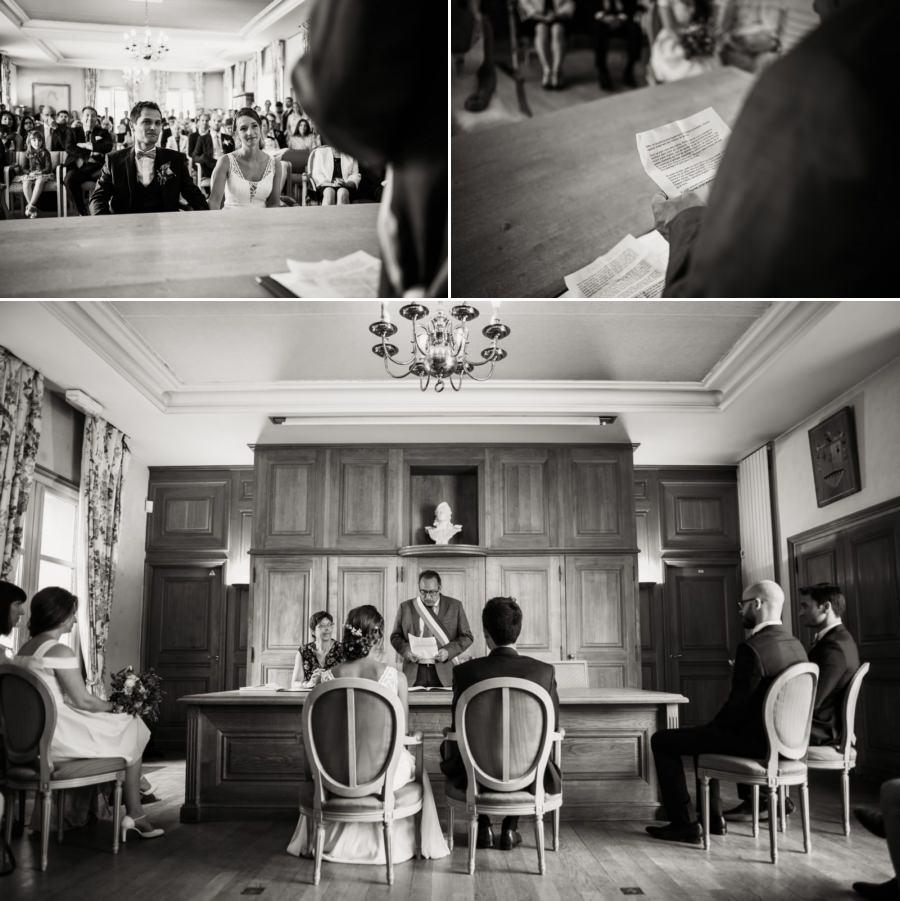 photos de mariage mairie de Longpont-sur-Orge - photographe mariage Essonne