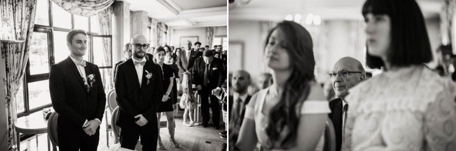 le regard des témoins pendant un mariage en Essonne - photographe mariage Essonne