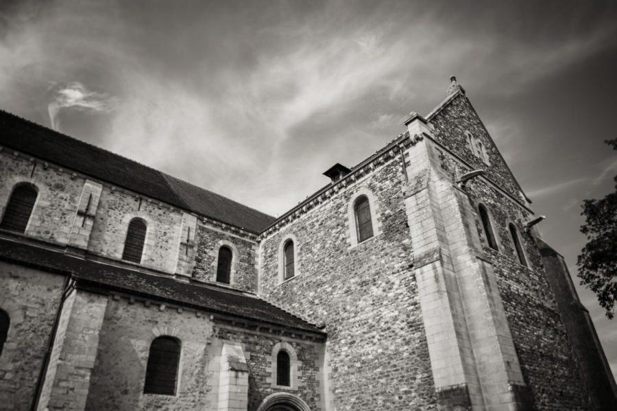 Basilique de Longpont-sur-Orge - photographe de mariage Essonne