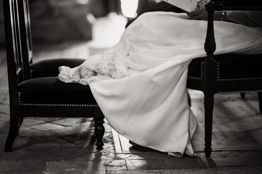 photos de la robe de la mariée - photographe de mariage Essonne