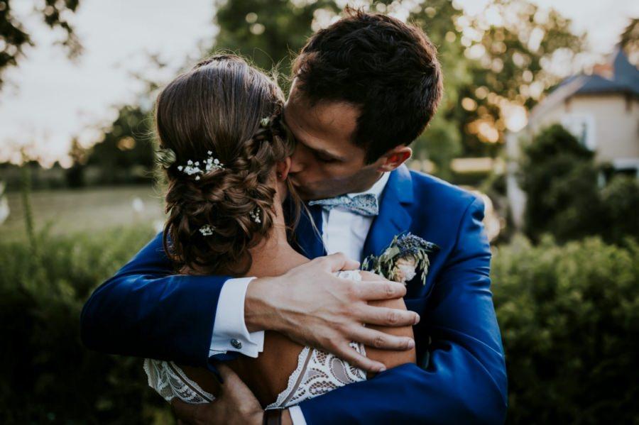 Séance photo des mariés domaine de Quincampoix - photographe mariage Essonne