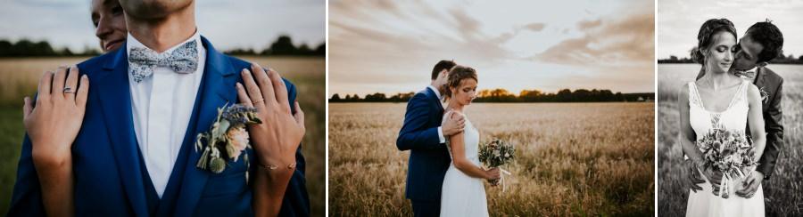 Séance photos des mariés au domaine de Quincampoix - photographe mariage Essonne