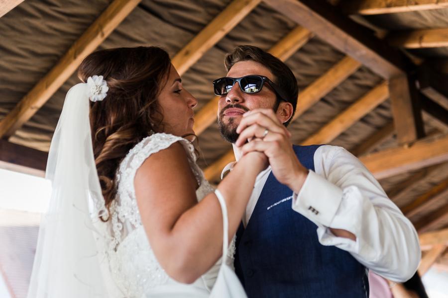 Le mariage de L & J aux Tourelles du Fonville… comme dans un rêve