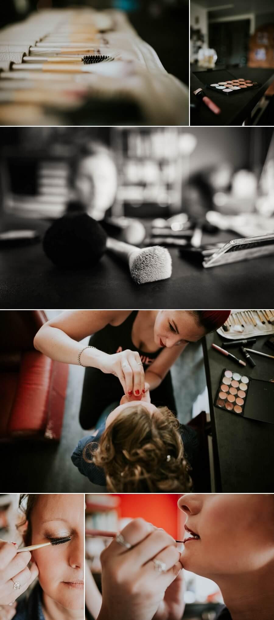 reportage photos de mariage lifestyle préparatifs mariée maquillage chartres
