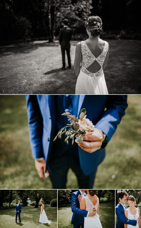 Découverte des mariés - photographe mariage Essonne