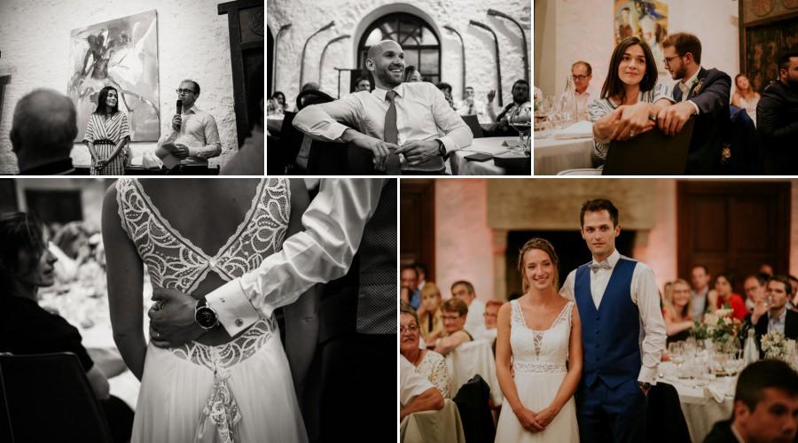discours des mariés au domaine de Quincampoix - photographe mariage Essonne