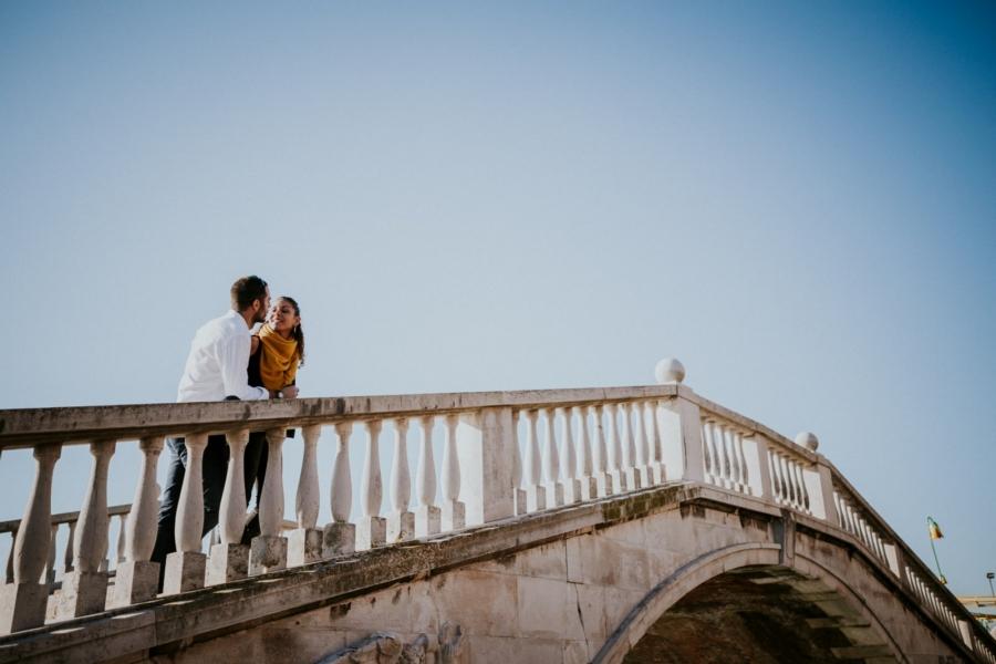Une séance engagement à Venise | photographe mariage Chartres