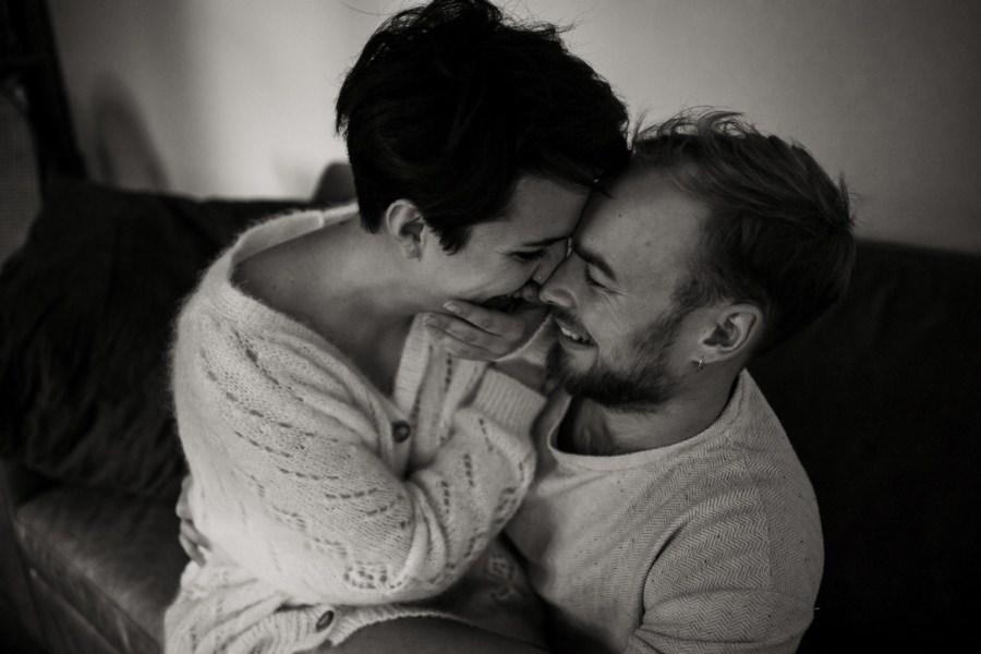 Une séance couple intime à domicile