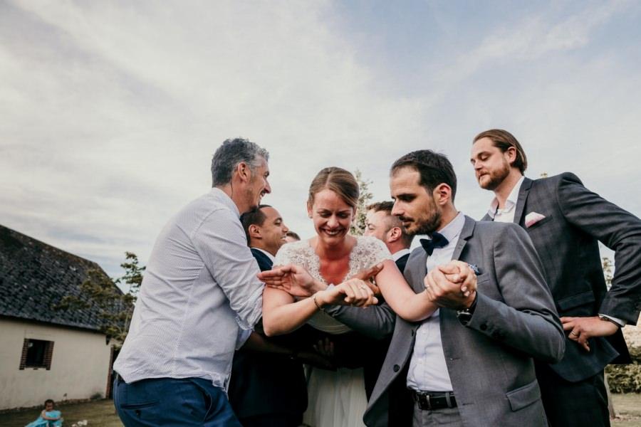 Un mariage à la ferme de Fouville