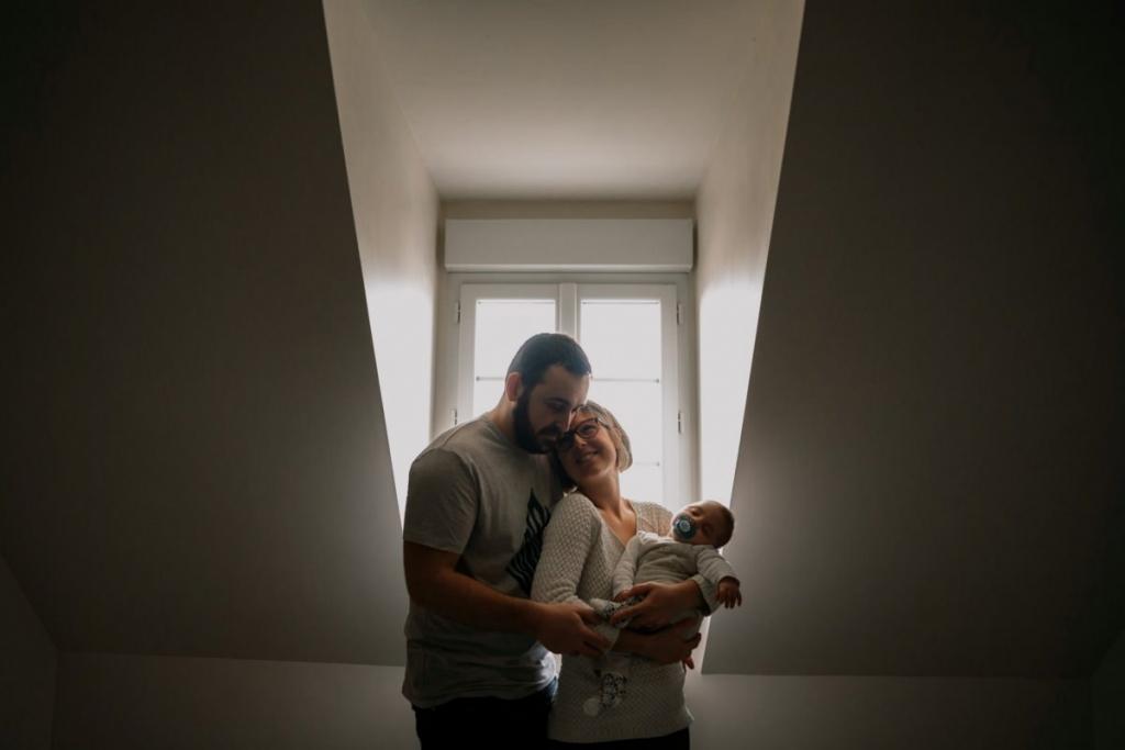 séance photo naissance à domicile à Chartres