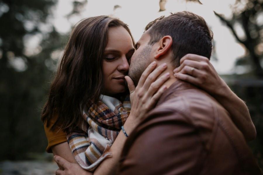 Séance photos de couple à Rambouillet