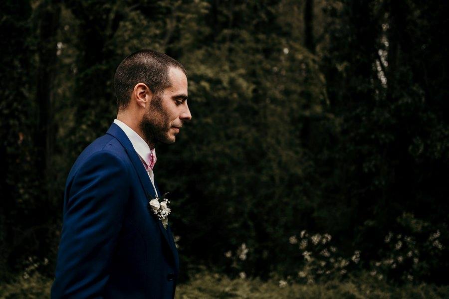 Découverte des mariés avant leur mariage au manoir de Vacheresses